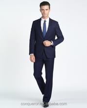 high class business suits navy 1 button suits