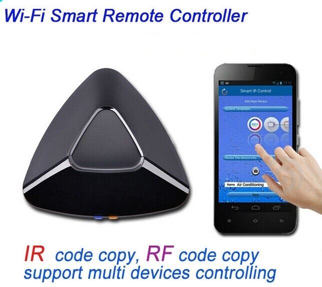 Wifi remote control TV/DVD/Set -top bos /air condition via Iphone