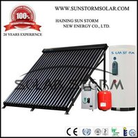 Solar Storm 200L Split Pressurized Heat Pipe Solar Water Heater With Double Copper Coil