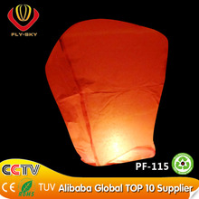 Hot sale chinese paper flying lucky balloon wholesale for wedding