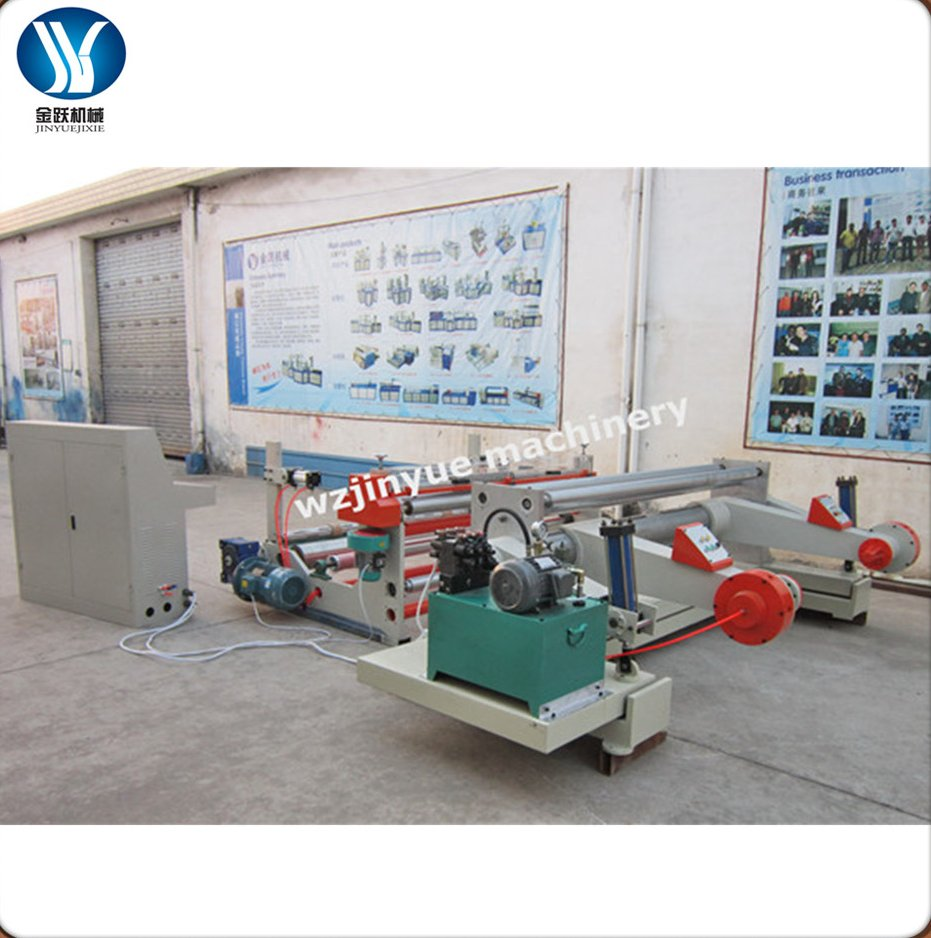 JY-SA1600 jumbo paper slitter rewinder, Full automatic paper roll cutting machine