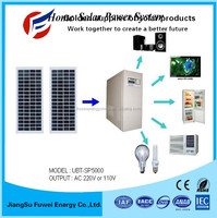 Factory Supply High Quality Off Grid Hybrid Solar Wind Power System For Industrial And Home Use