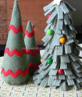 DIY Christmas felt craft for kids arts and crafts