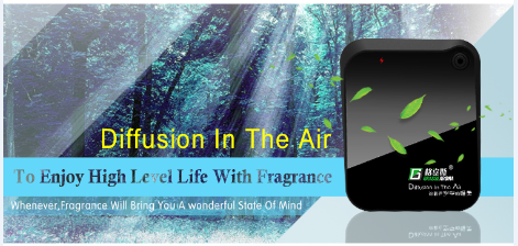 New electric air aroma diffuser, electric air freshener diffuse working with batteries HZ-100