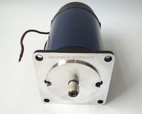 brush 24 volt dc gear motor with reduction for seeder