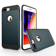 Shockproof silicon Ultra thin soft tpu drawbench cell phone back case cover for iPhone 8 plus case