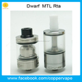 Coppervape 5ml Dwarf Rta with 1.2mm & 3.1mm airflow MTL dvarw RTA in stock Now