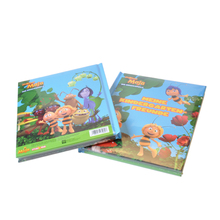 Hot sale softcover english children short story books printing