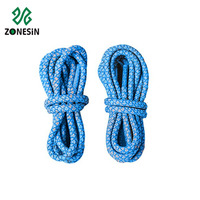 Fashion style cheap price cusstom color round reflective shoelace