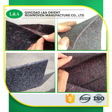 Manufacturer Supply Industrial New Style Multi Color Shoddy Felt For Mattress