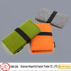 Latest design high quality girls decoration felt cell phone pocket made in china