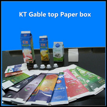 KT Gable top paper carton for cream and milk