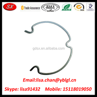 Trade Assurance Custom SUS Wire Forming Spring Clip