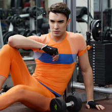 Men's compression fitting training <strong>sportswear</strong>