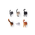 Wal-Mart Approved Factories half cat fridge magnet