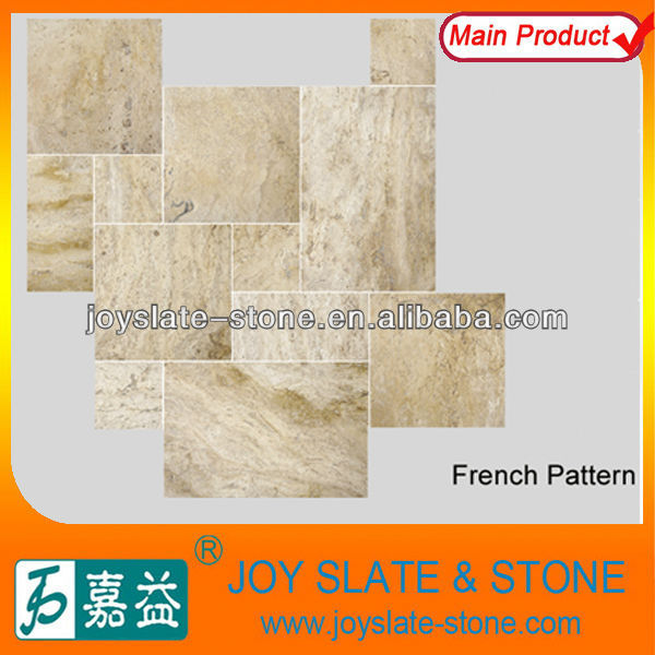 chinese french pattern limestone for flooring