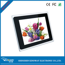 Hot english movies 12.1 inch LED screen display marchine