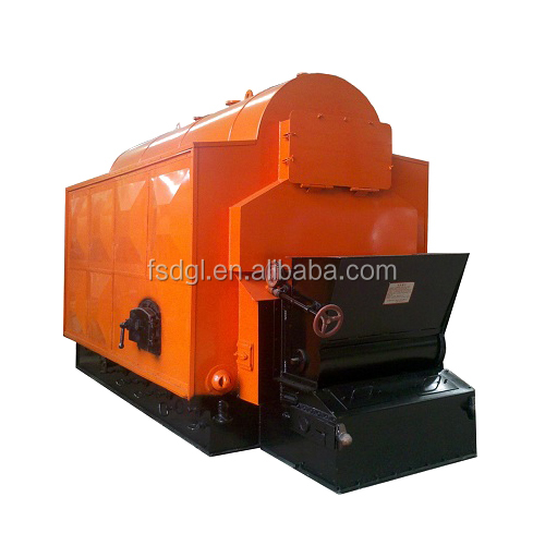 0.7 MW small biomass fired hot water boiler for home
