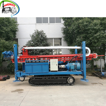 Portable core drilling rig mobile man