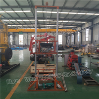 Max 100m Depth Small Underground Water Well Drilling Rig Machine With Low Price