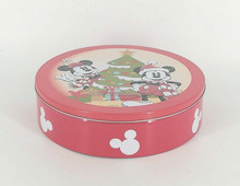 Round Metal Cookie Tin Cookie Tin Box Cookie Packaging Tin
