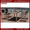 Sun Resistant Dining Table Set, Outdoor Restaurant Furniture