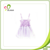 Sleeveless girls boutique clothing princess dress for girl