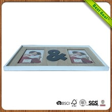 Wholesale cheap 2x2 ajustable plastic acrylic wooden picture photo frame with glass