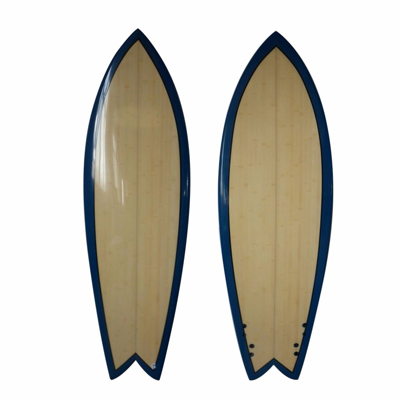 High Quality Epoxy Bamboo Surfboard