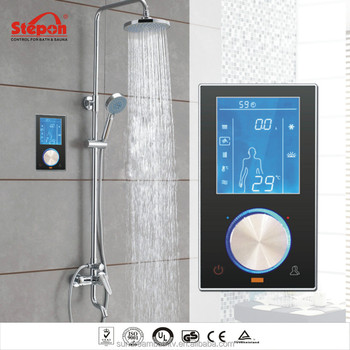 Digital Head to Hand Shower Bathroom Control Panel