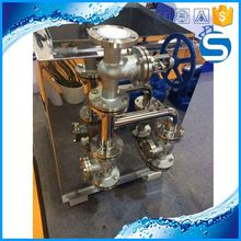 Hot Selling gas pipe fitting sanitary stainless steel butterfly valves