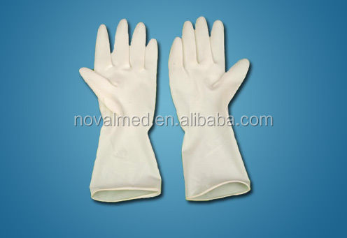 Non Sterile Medical Disposable Latex Examination Gloves