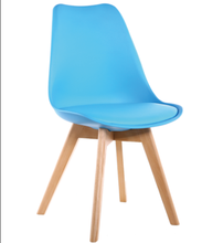 Bazhou Replica PU Leather Padded Seat PP Plastic Chairs Tulip Emes Dining Chair