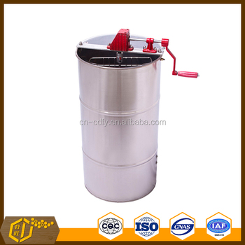 2frames honey extractor by manual