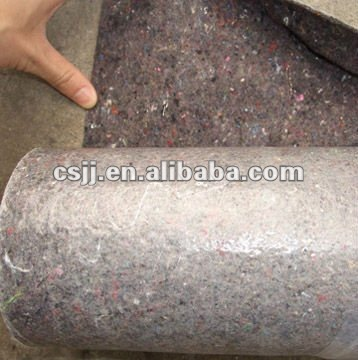 PE coated /100% polyester road fabric
