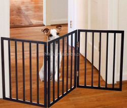 Wood pet gate Dog gate