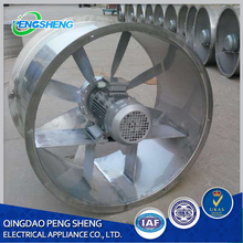Mining industry ventilated axial flow fan/wall fan