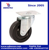 General duty transferfacility elastic solid rubber caster wheel
