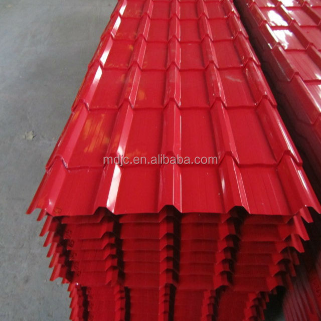 Color coated roofing sheet and fiberglass sheet carport roofing material
