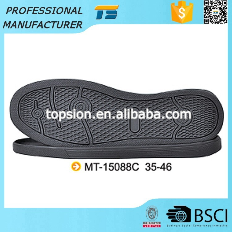 Reliable Quality Oil Resistant Board Casual Kids Sport Shoe Sole Rubber Outsole For Shoes