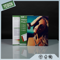 Yesion Factory Supply High Quality Glossy Photo Paper 115gsm-260gsm, A4 Size Metallic Glossy Inkjet Photo Paper