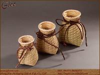 Natural handmade bamboo arts crafts
