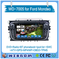 for ford s-max car gps navigation 2008 2009 2010 2011 double din car stereo multimedia system support wifi 3g internet bluetooth