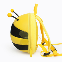 SUPERCUTE 3D Cartoon bumble bee Toddler Kids Child Sidesick Cute mini backpack baby <strong>safety</strong> anti lost strap for kids