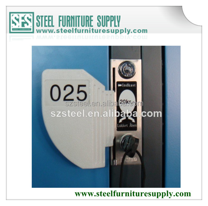 Stainless Steel Coin Lock, Coin Operated Lock