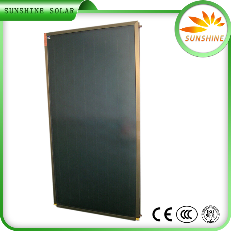 Anodizing Hot Shower Water Flat Plate Solar Collector Solar Air Collector