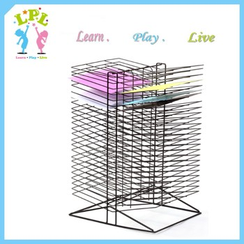50 layers steel material Art supplies storage rack in art classes studios home multi-purpose table rack