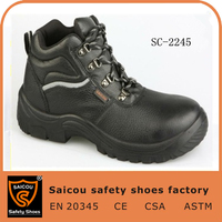hot selling safety shoes en 20345 s3 acid oil industrial tactical boots militarySC-2245