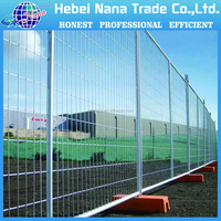 Hot dip galvanized Security fence Temporary fence post base for sale
