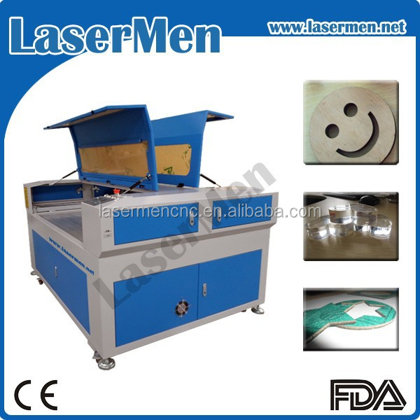 cnc laser acrylic letter cutting machine / laser cutter for plexiglass LM-1490